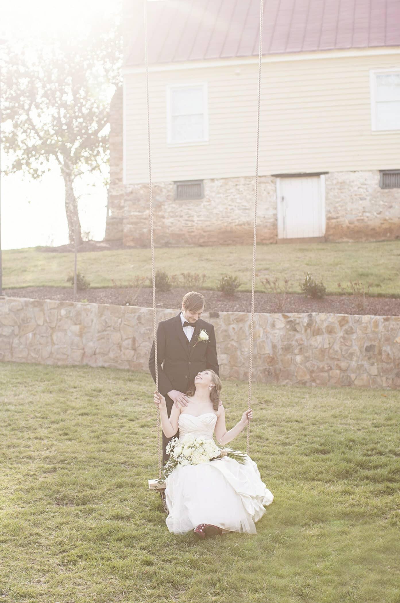Selecting Your Virginia Wedding Venue | Entwined Events | Venue: Bella Rose Plantation in Lynchburg, VA | Photo Credit: Kidd Photography