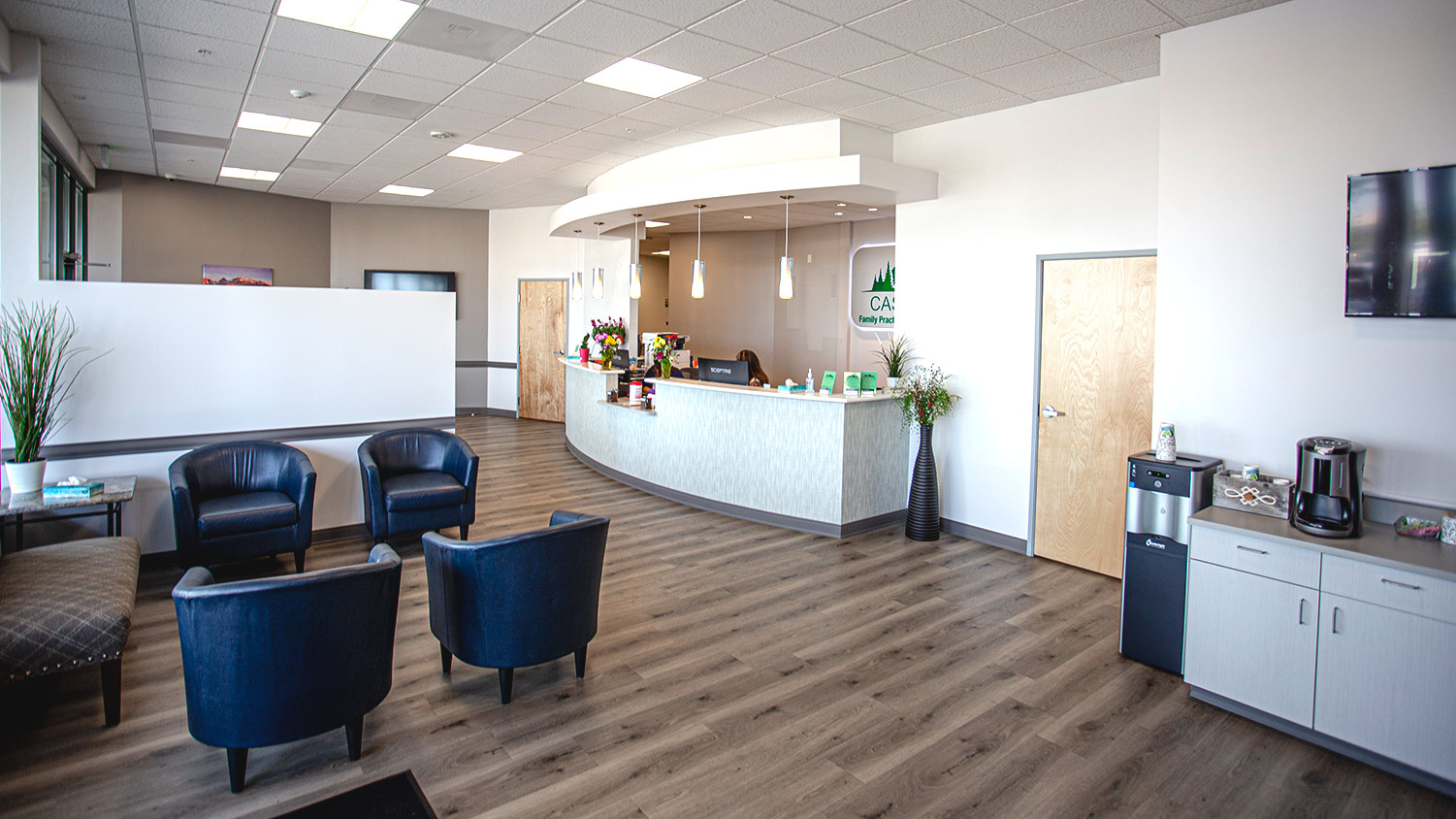 Castle Pines Family Practice and Urgent Care Lobby