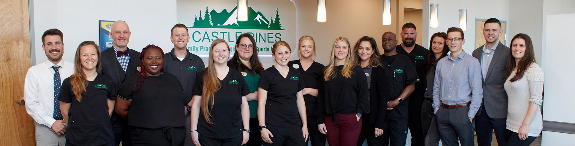 Castle Pines Family Practice and Urgent Care Group Photo