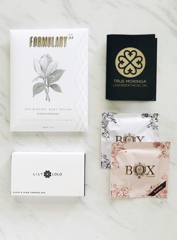 Petit Vour's August 2016 Beauty Box