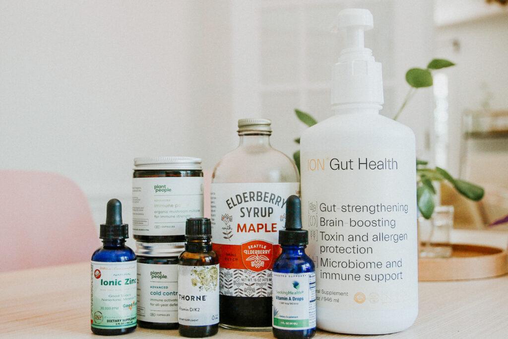Immune boosting supplements