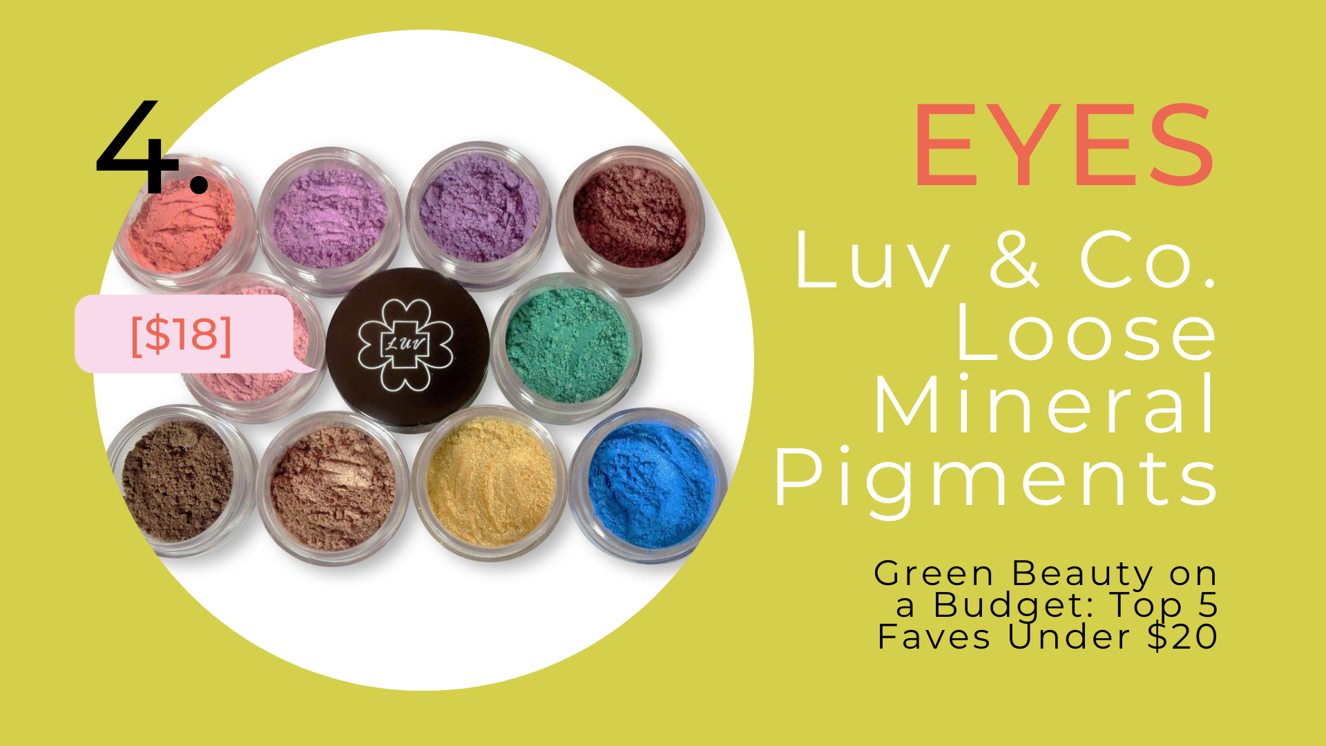Shop Luv & Company Loose Mineral Pigments