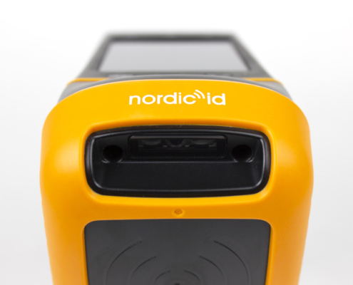 Scanner close up of the Nordic ID RFID Reader for Inventory Control