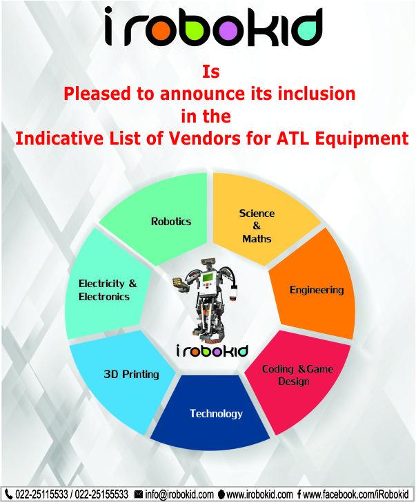 Indicative List of Vendors for ATL Equipment - iRobokid