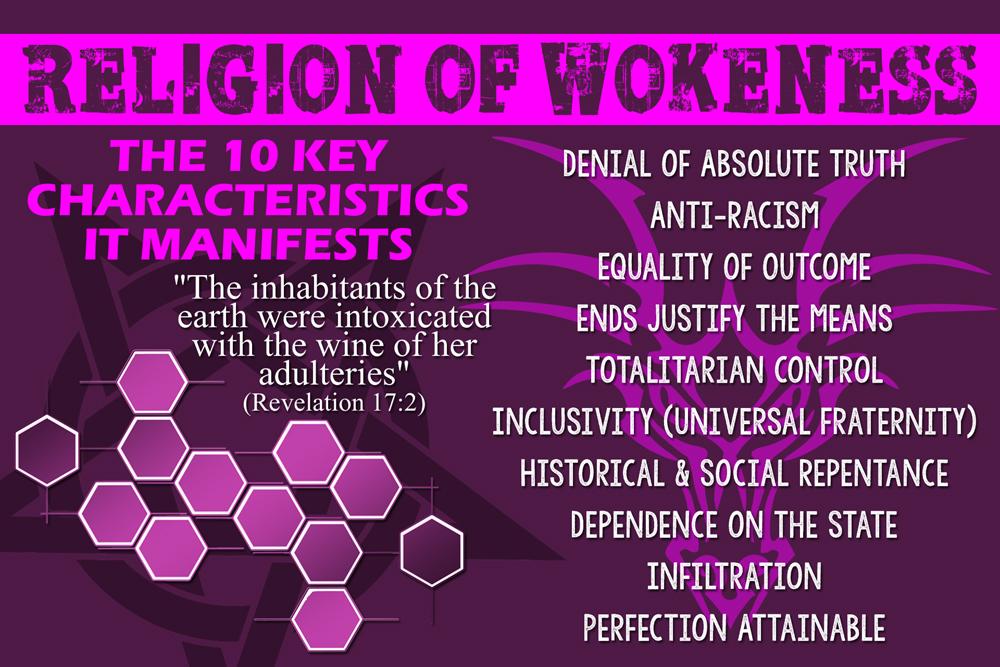 "10 Key Characteristics Manifested by the ""Woke"" Religion"