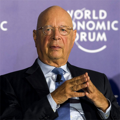 Klaus Schwab | Founder and Executive Chairman of the World Economic Forum