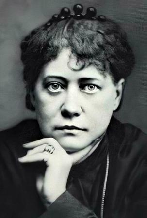 Russian occultist Helena Blavatsky (Elena Petrovna Gan Blavtsky), founder of Theosophy and the Theosophical Society