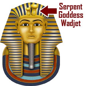 The Uraeus on Egyptian Headdresses--Serpent Goddess Wadjet