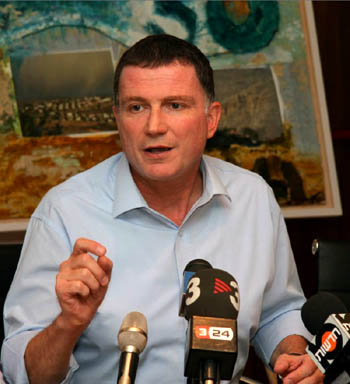 Yuli Edelstein, one of the Soviet Union's most prominent refuseniks.