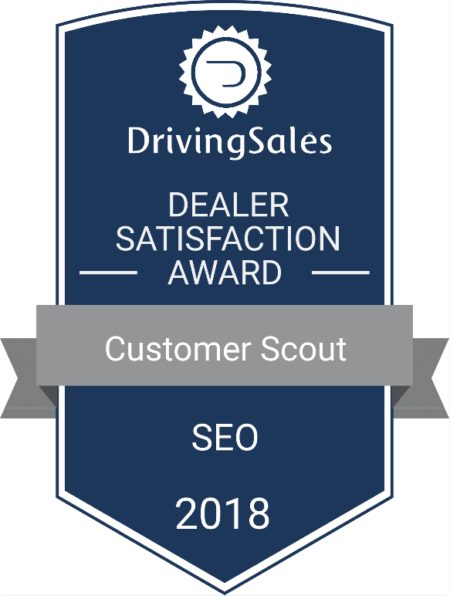 Driving Sales Top Rated SEO 2018 Customer Scout
