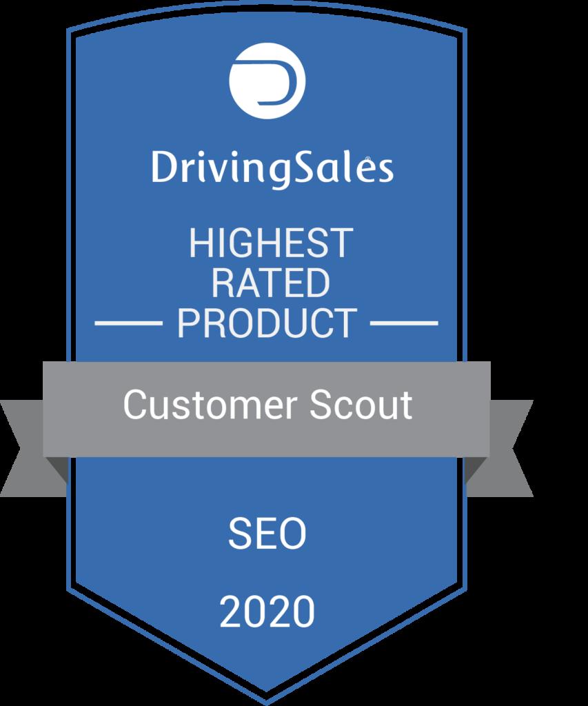 Customer scout driving sales seo vendor
