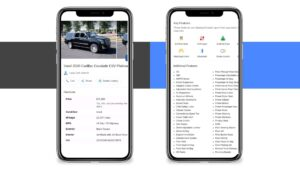 Car Dealer Inventory on Google GMB Inventory