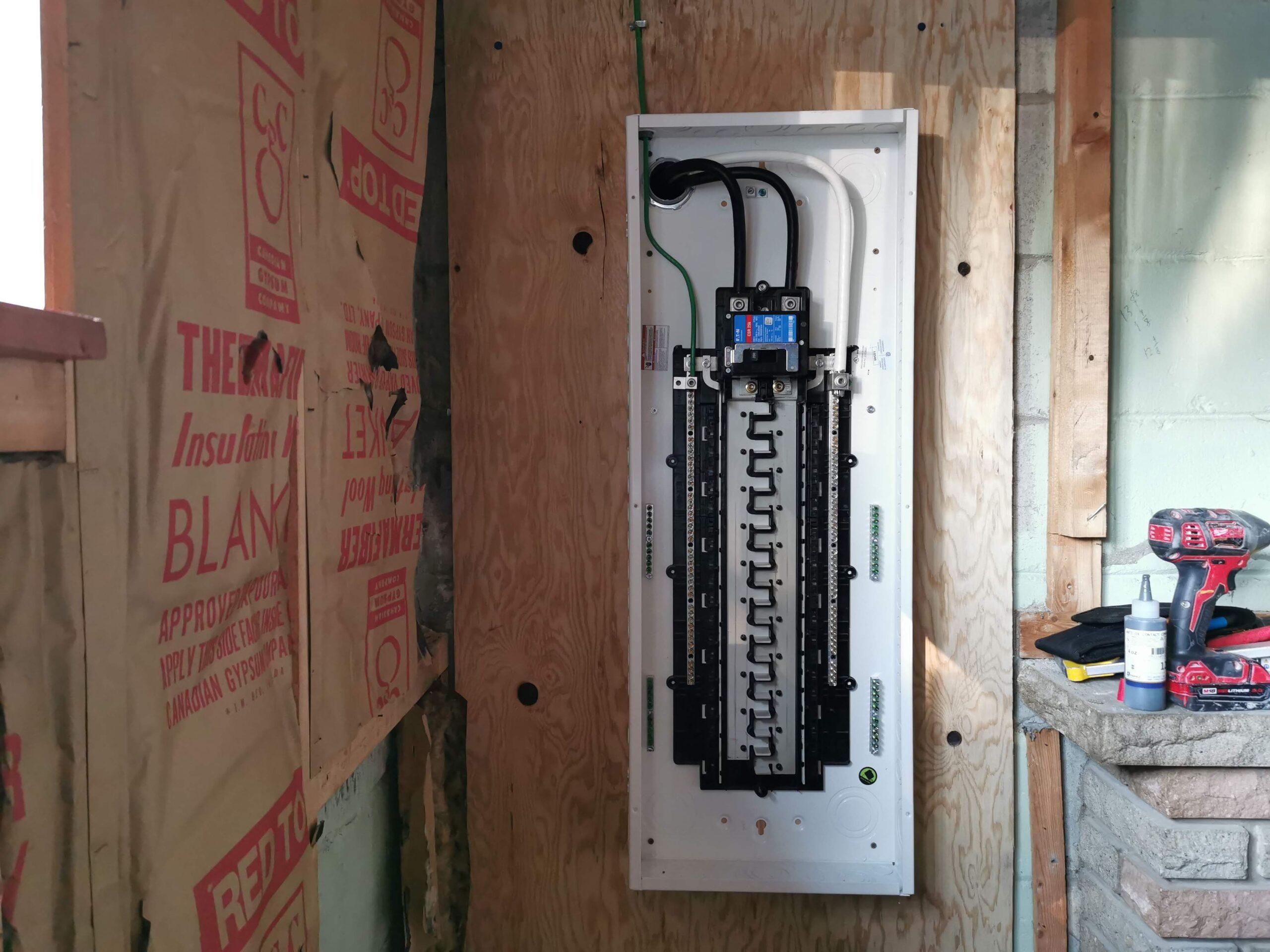 CBK Electric Panel Upgrade