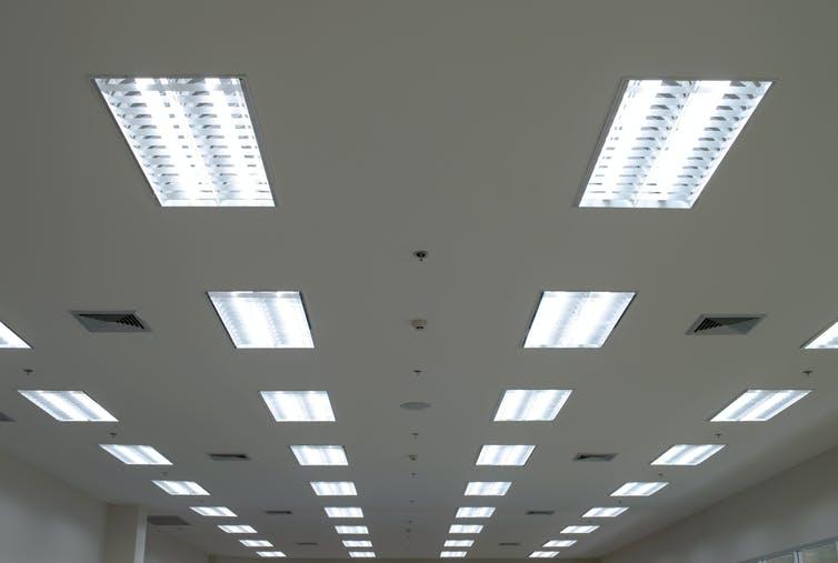 New Light Retrofit Installation
