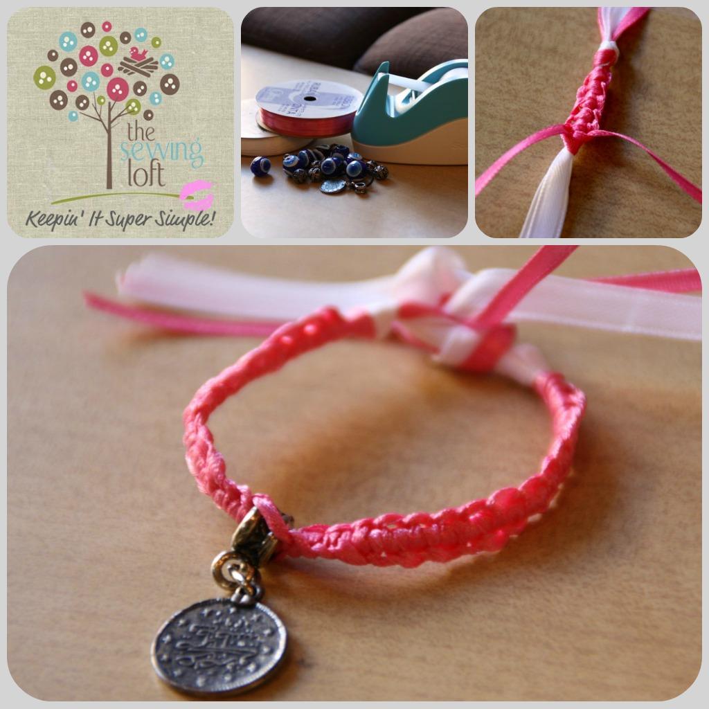 Friendship Bracelet | The Sewing Loft
