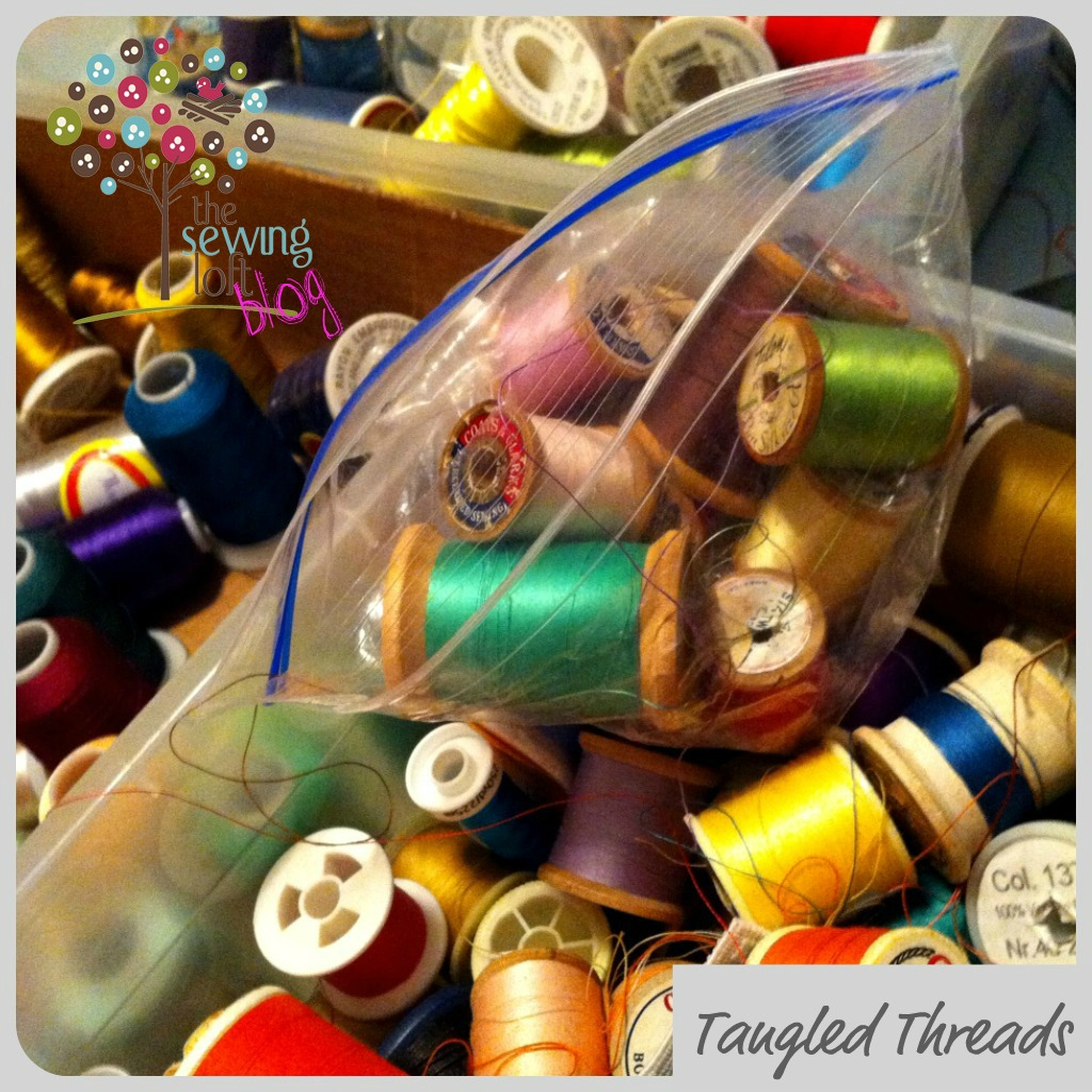 Tangled Threads Button