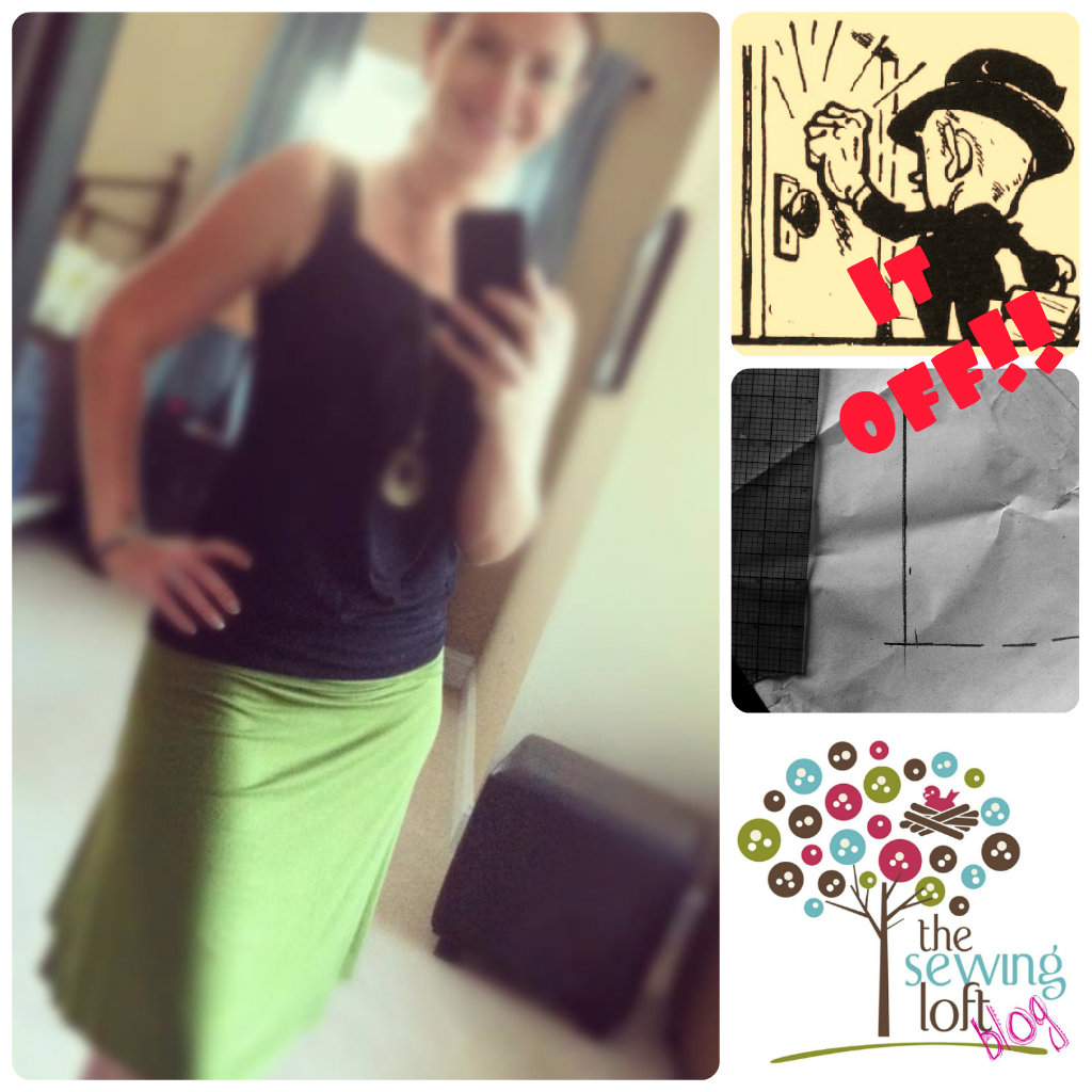 Learn how to knock off your favorite skirt. Easy tutorial by The Sewing Loft
