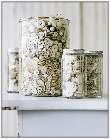 Button Jar great for button crafts