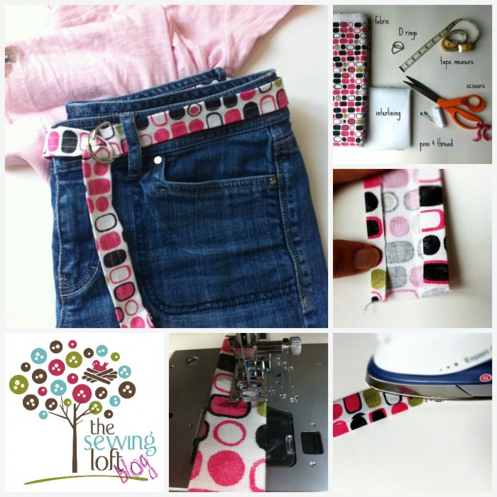Simple Fabric Belt How To- The Sewing Loft