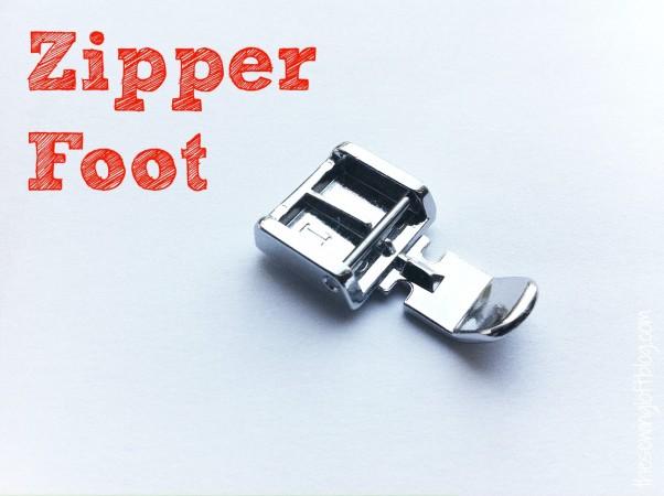 Zipper Foot Project | The Sewing Loft