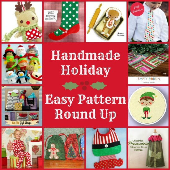 Easy Christmas Pattern Round Up for a Handmade Holiday | The Sewing Loft