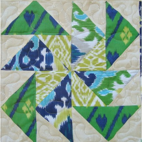 Flying Geese Block 2 thesewingloftblog.com