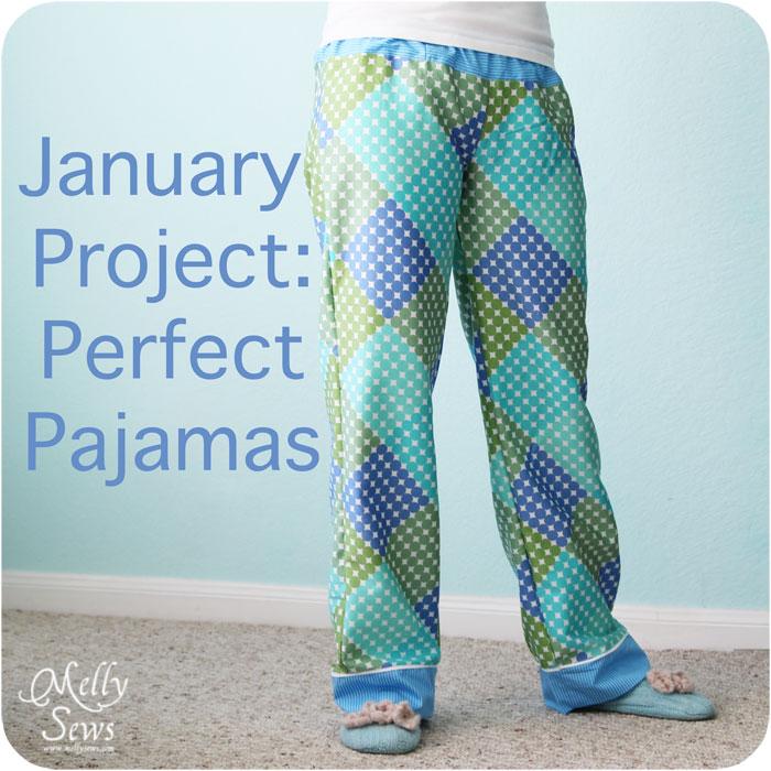 Perfect pajama pants via thesewingloftblog.com