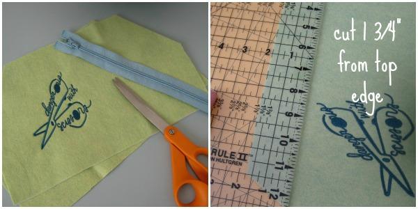 Easy Zipper Bag Pattern