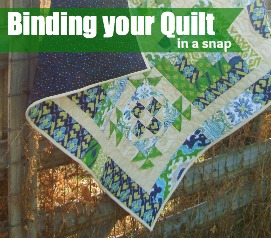 Binding your quilt made easy | The Sewing Loft
