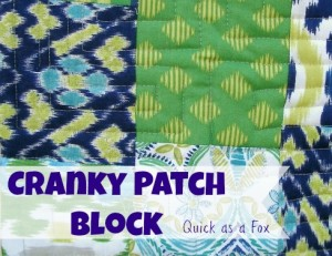 Cranky 9 Patch Block | The Sewing Loft