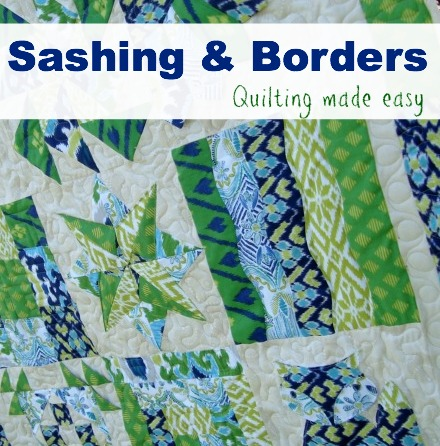 Sashing and Borders made easy The Sewing Loft