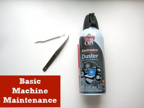 Machine Maintenance | The Sewing Loft