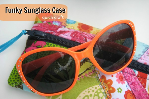 Funky Sunglass Case | The Sewing Loft