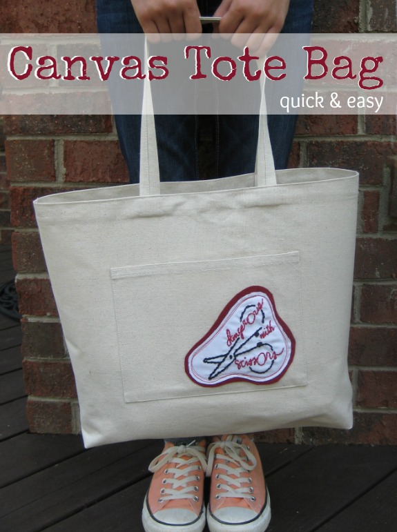 Quick & Easy Tote Bag | The Sewing Loft