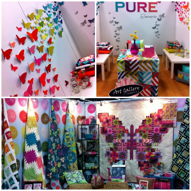 Spring Market 2013 Fabric Booths | The Sewing Loft
