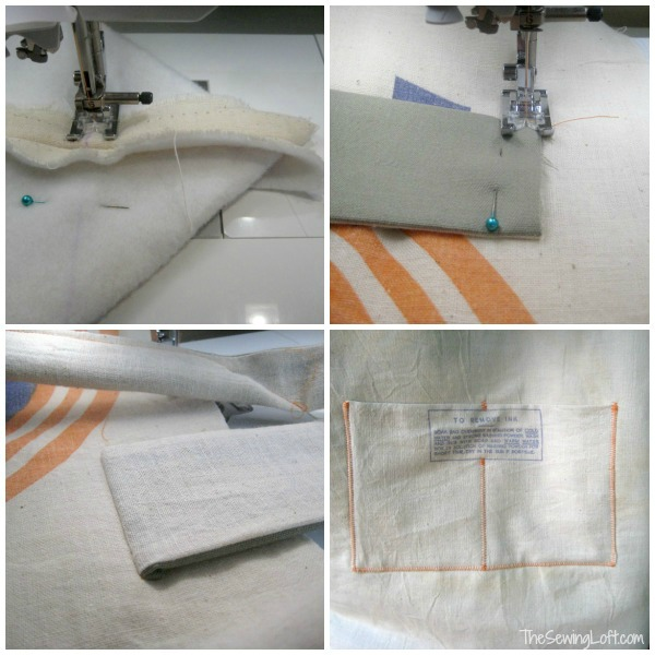 Oversized Bag Details | The Sewing Loft