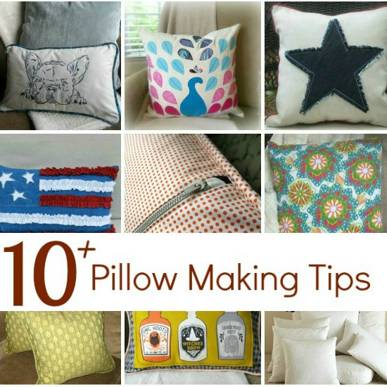 Easy 10 great tips for making decorative pillows for your home. These tutorials will turn any DIY project into a showstopper.