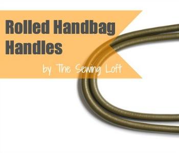 How to make Handbag Handles | The Sewing Loft