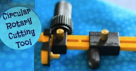 Circular Rotary Cutter Tool | The Sewing Loft #NationalSewingMonth