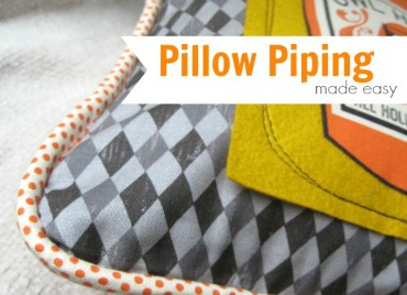 Install Pillow Piping | The Sewing Loft