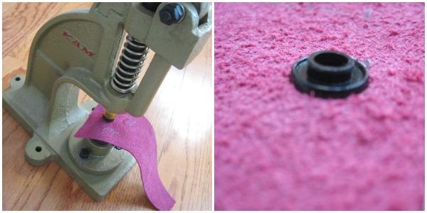 Leather Cuff Bracelet Tutorial. The Sewing Loft