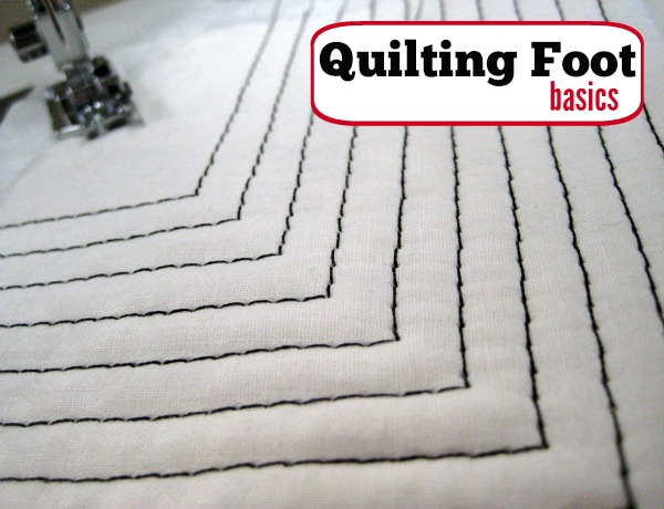 Take your top stitching to the next level with a quilting foot. The Sewing Loft