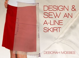 Learn how to design and sew your own A-Line skirt with this class on Craftsy.