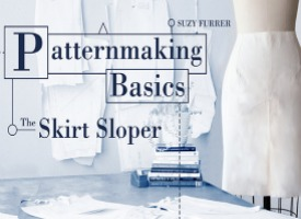 Learn how to create a basic skirt sloper with this class on Craftsy.