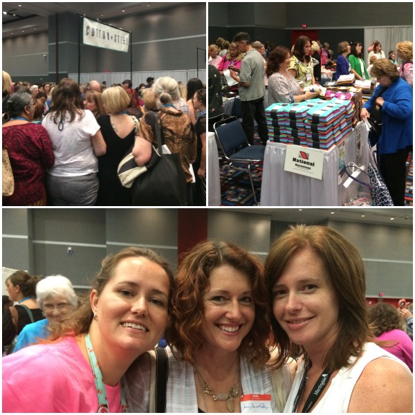 Sample Spree at quilt market 2014. The Sewing Loft