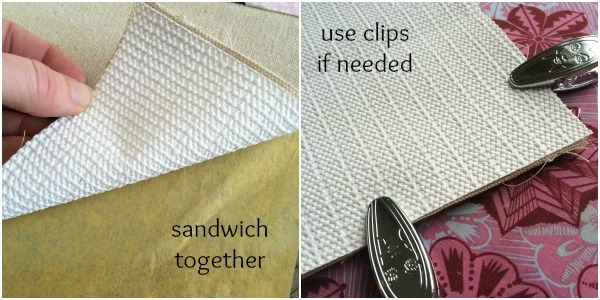 Use shelf paper to create a sewing mat. The Sewing Loft