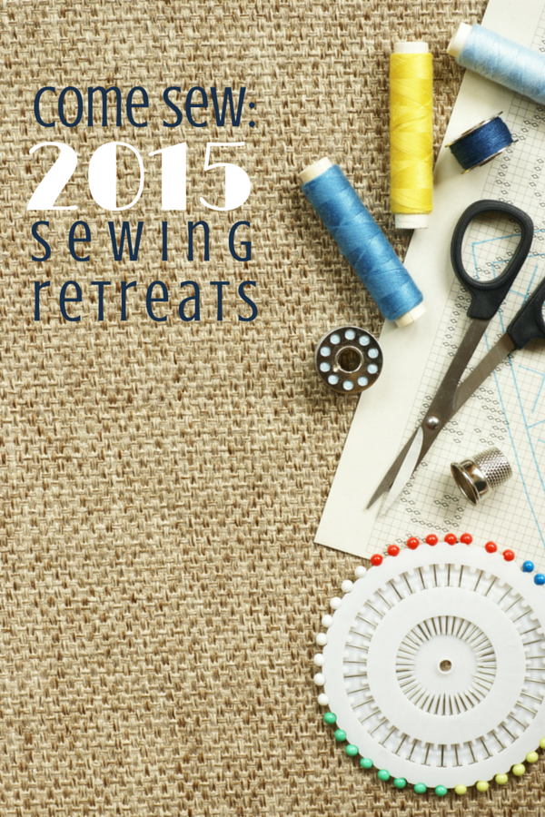 Sewing retreats are a fun way to meet new friends who are passionate about sewing. Check out this great list for 2015 retreats. The Sewing Loft