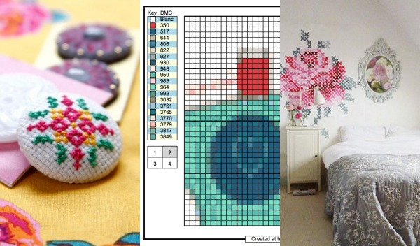 Add a slash of cross stitch to your everyday sewing projects. Learn how to make the basic stitch and tips to improve your stitching. The Sewing Loft
