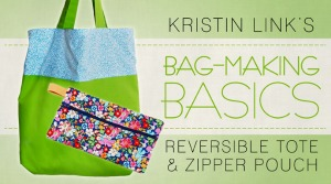 Free Bag Making Basics Class on Craftsy