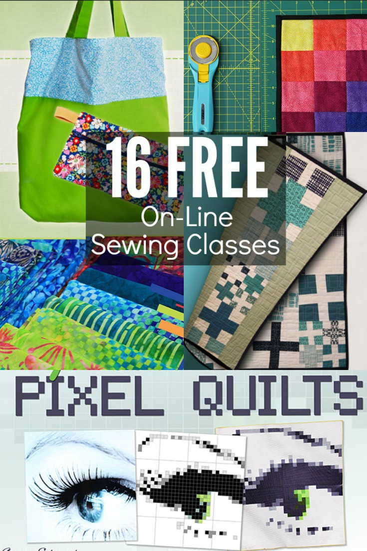 Learn a new skill with these 16 free online sewing classes.